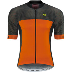 Alé Cycling Formula 1.0 Ultimate Short Sleeve Jersey Men black-fluo orange